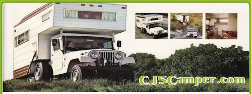 1969 CJ5 Jeep Camper